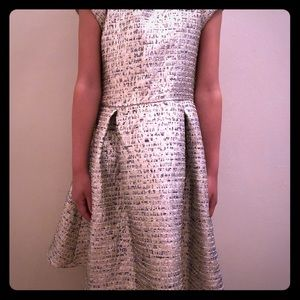 Laundry size 7 Metallic party dress.
